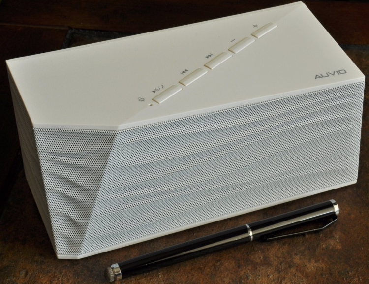 Bluetooth Portable Speaker With Bass Port, Built in Mic  Controls