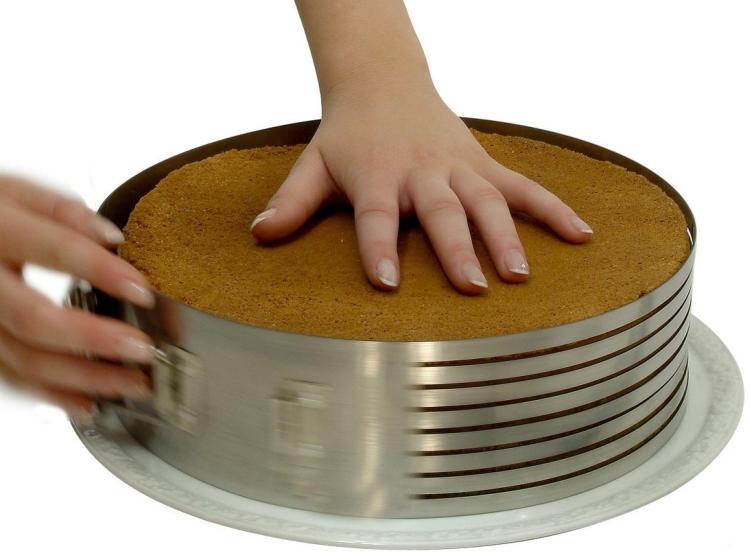 Cake Slicing Torte Layer Ring