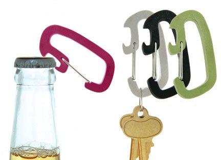 Carabiner  Bottle Opener Keychain
