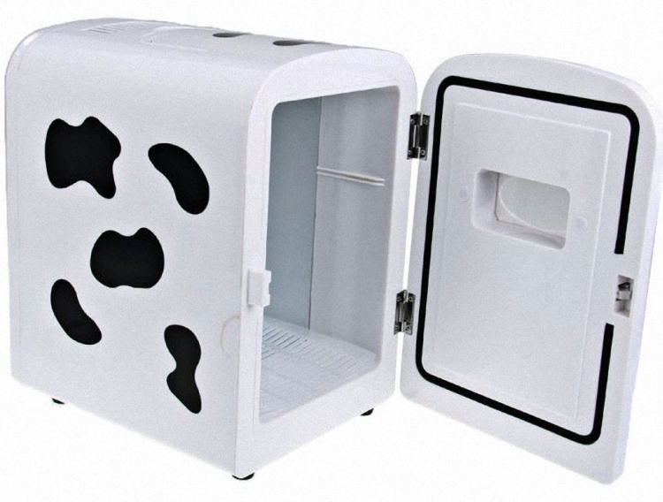 Cows mini fridge
