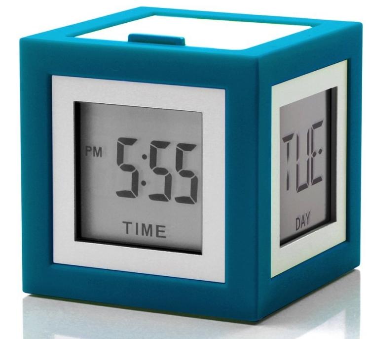 Cubissimo Alarm Clock Blue