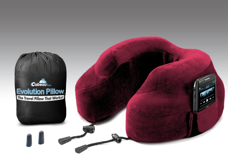Evolution Neck and Travel Pillow with Portable Bag