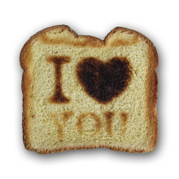 I Love You Toasters