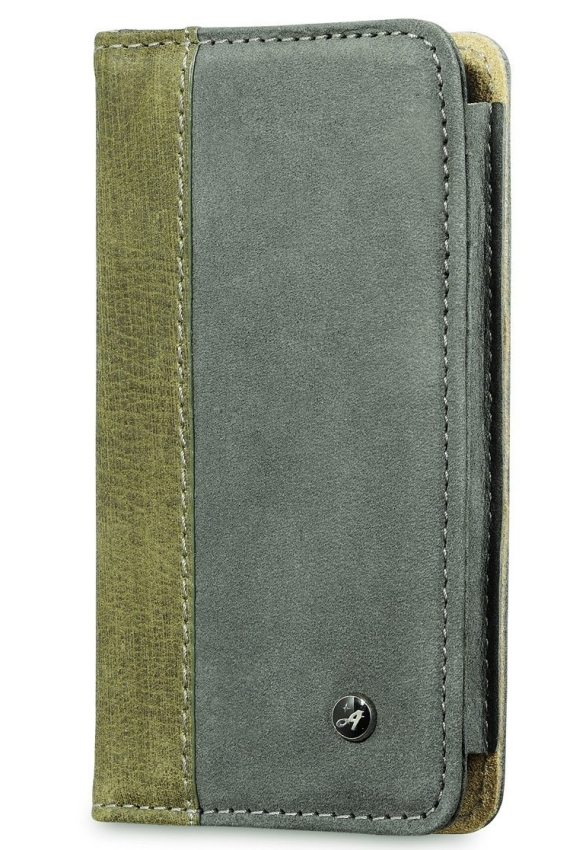 Leather iPhone 5 Case with Card Wallet