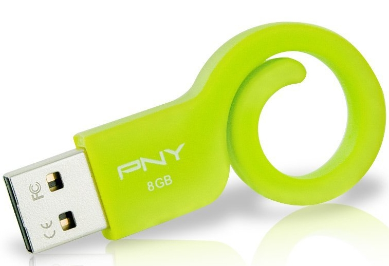 PNY Monkey Tail Attach 8GB Flash Drive