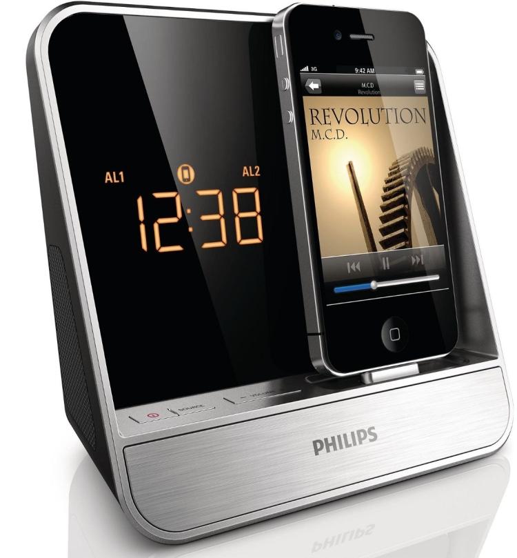 Philips Alarm Clock Radio for iPodiPhone
