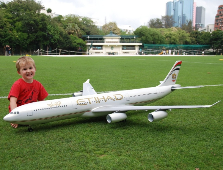 Radio Control Electric Airbus Jet Plane Complete Package