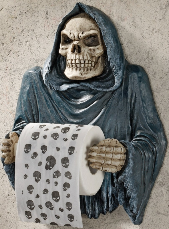 Sculptural Bath Tissue Tyrant