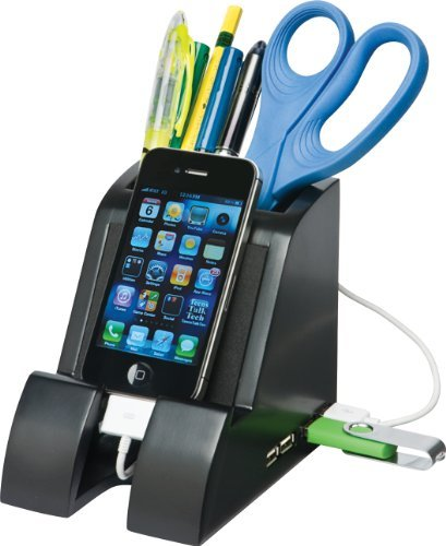 Smart Charge Pencil CupTM with USB Hub