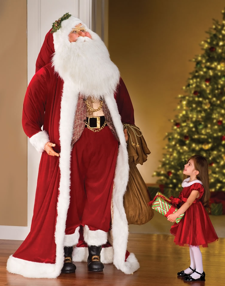 The Larger Than Life Bavarian Santa