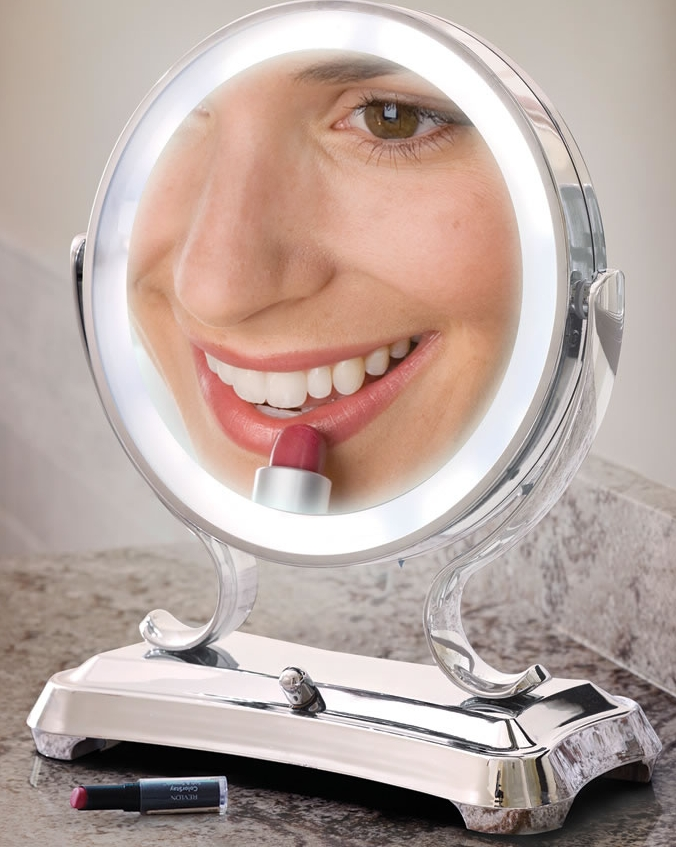 The Largest View Lighted Vanity Mirror