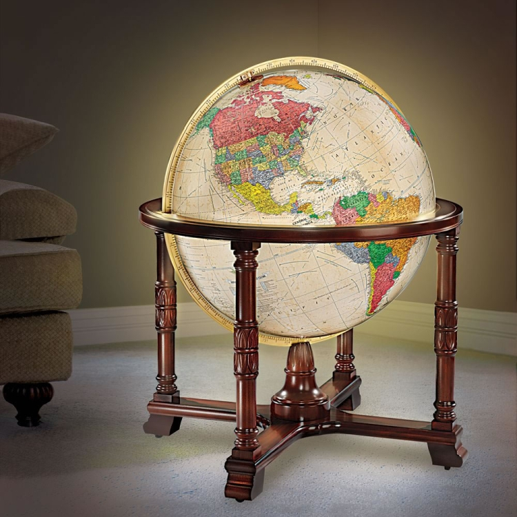 The Worlds Most Detailed Globe