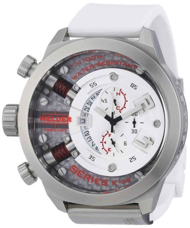 Welder by U-Boat K38 Oversize Chronograph Steel Unisex Watch