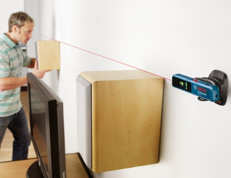 ombination Point and Line Laser Level