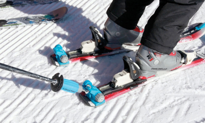 1 ski