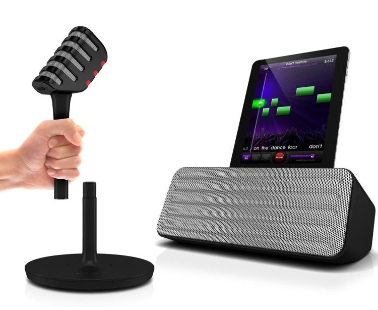 1.Philips AEA710017 StarMaker Bluetooth Speaker Karaoke System