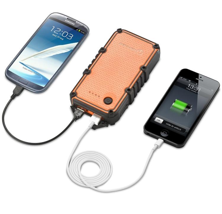 14000mAh Portable Dual USB Port External Battery Charger