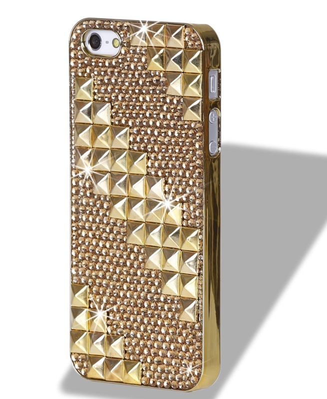3D Bling Crystal iPhone Case for iPhone 55S