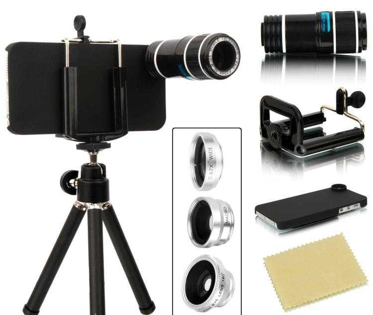 4 in 1 iPhone 55S Camera Lens Kit