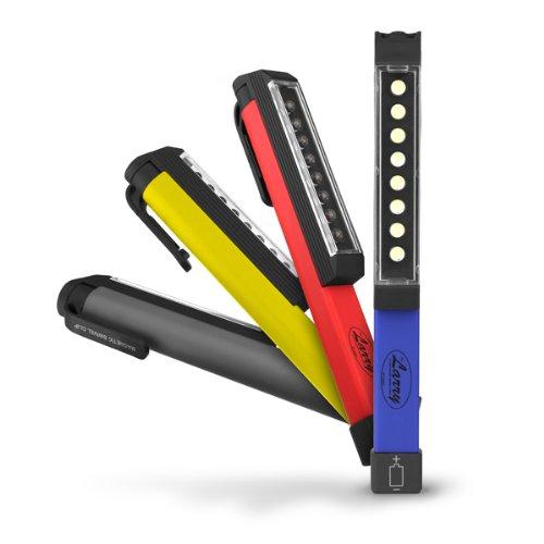 8 LED Work Light Magnetic Clip 60 Lumens 180 Degrees