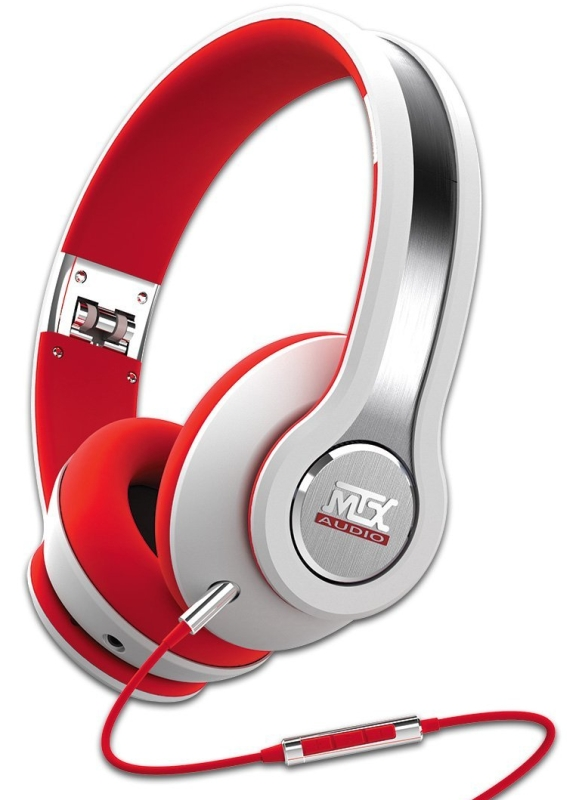 Audio IX1-White Street Audio On Ear Acoustic Monitors