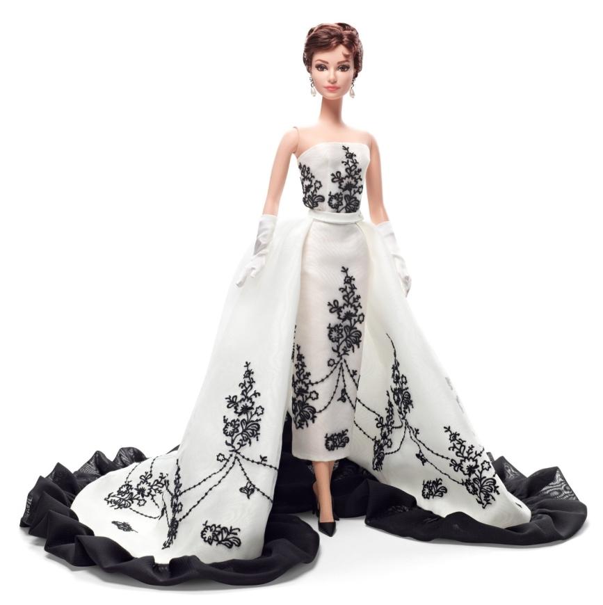 Barbie Collector Audrey Hepburn Sabrina Doll