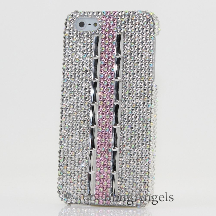 Bling iphone 5 5S Case Cover Faceplate 3D Swarovski
