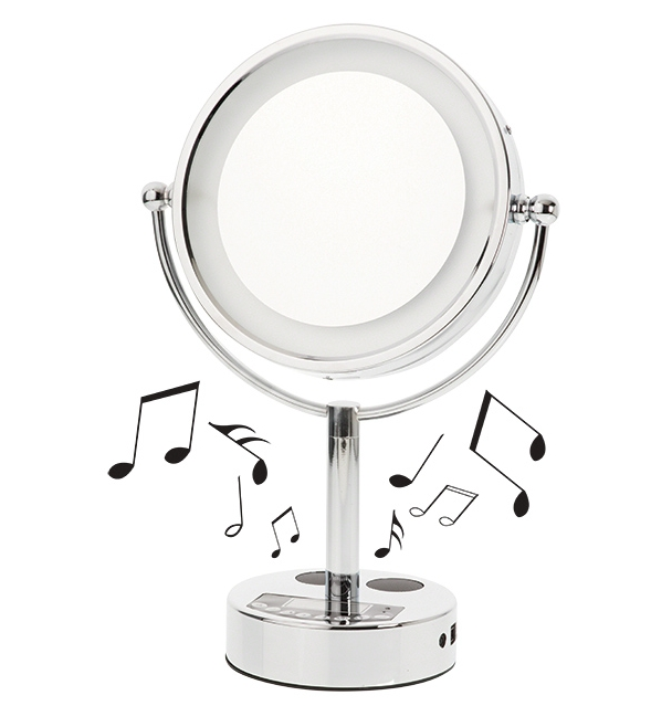 Bluetooth Vanity Mirror