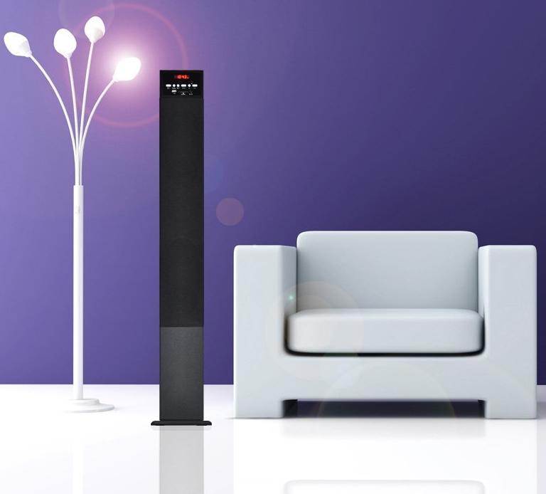 Bluetooth Wireless Streaming Tower Speaker System