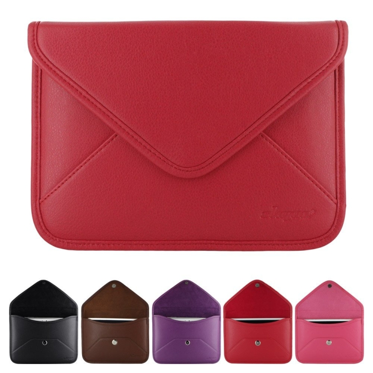 Branded Envelope Style Leather Sleeve Case