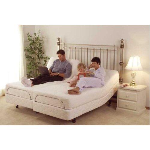 CoolBreeze GEL Memory Foam Mattress with S-Cape Adjustable Beds Set