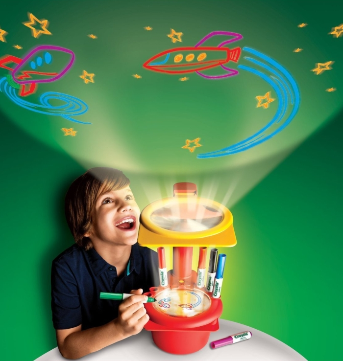 Crayola Sketcher Projector and Airbrush Marker Kits