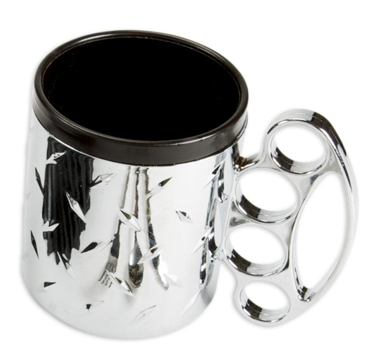 Diamond Plate Patterned Mug