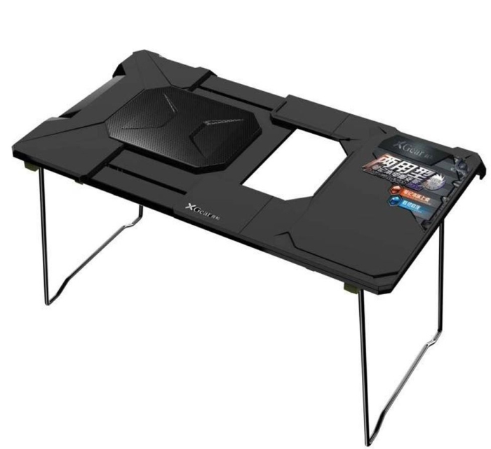 Folding Laptop Stand for Home Office Adjustable Laptop with Fan Cooler