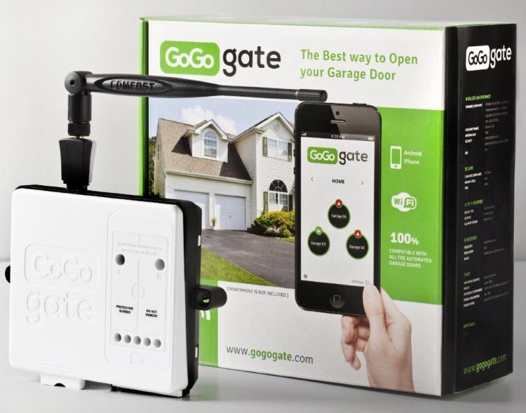 Garage Door Opener via Smartphone