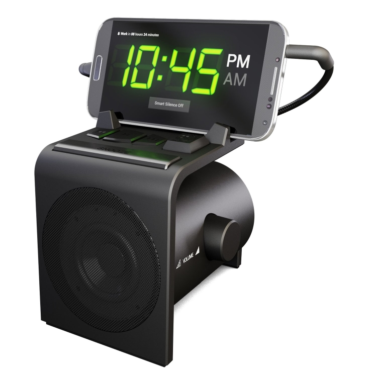 Hale Dreamer Alarm Clock Dock for Android Phones with SmartSilence