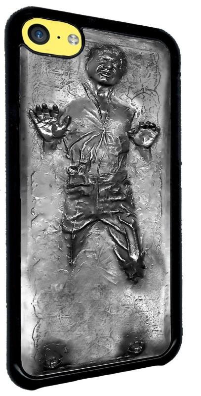 Han Solo in Carbonite Iphone 5c Hard Case Black