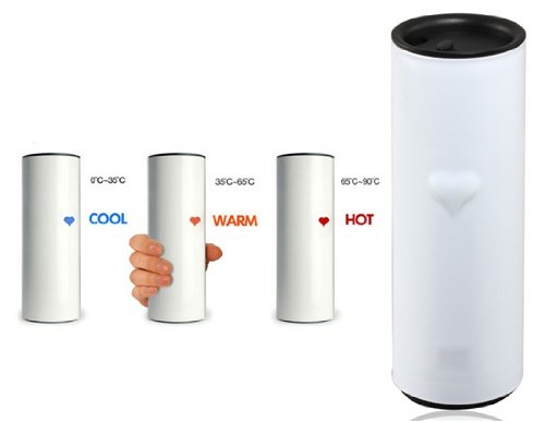 Heart Color Changing Touch Sensing Cup