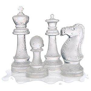 Ice Speed Chess Mold Tray