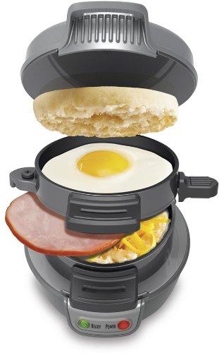 Kitchen Cooking Appliance Counter Top Hearty Breakfast Sandwich