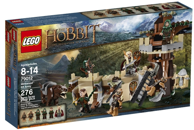 LEGO Lord of the Rings 79012 Mirkwood Elf Army Building Kit
