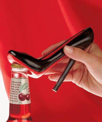 Louboutin Shoe Bottle Opener