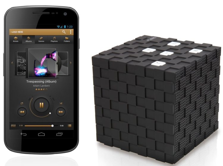 Magic Cube Rechargeable Portable Bluetooth Wireless Speaker