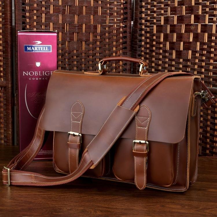 Mens Briefcase Handbag Laptop Messenger Bag