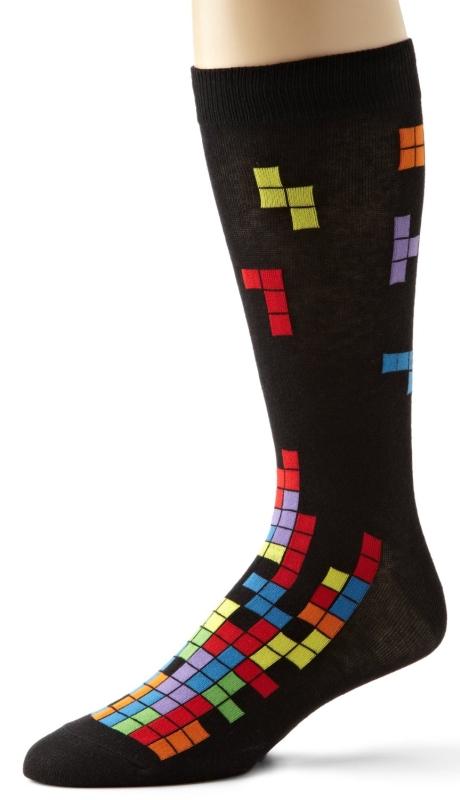 Mens Tetris Sock