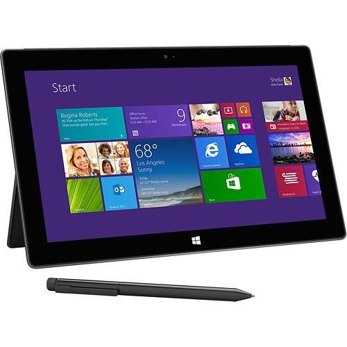 Microsoft - Surface Pro 2 with 128GB - Dark Titanium