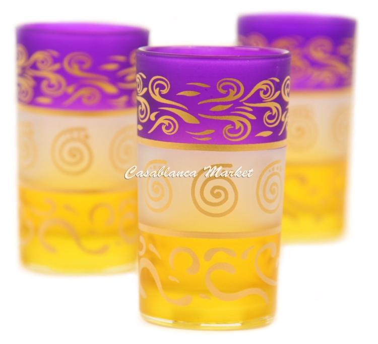 Moroccan Berber Tea Glasses