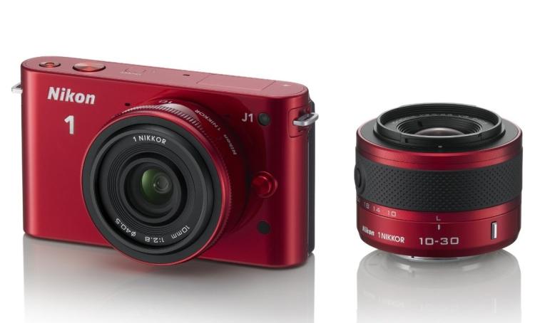 Nikon 1 J1 10.1 MP HD Digital Camera System