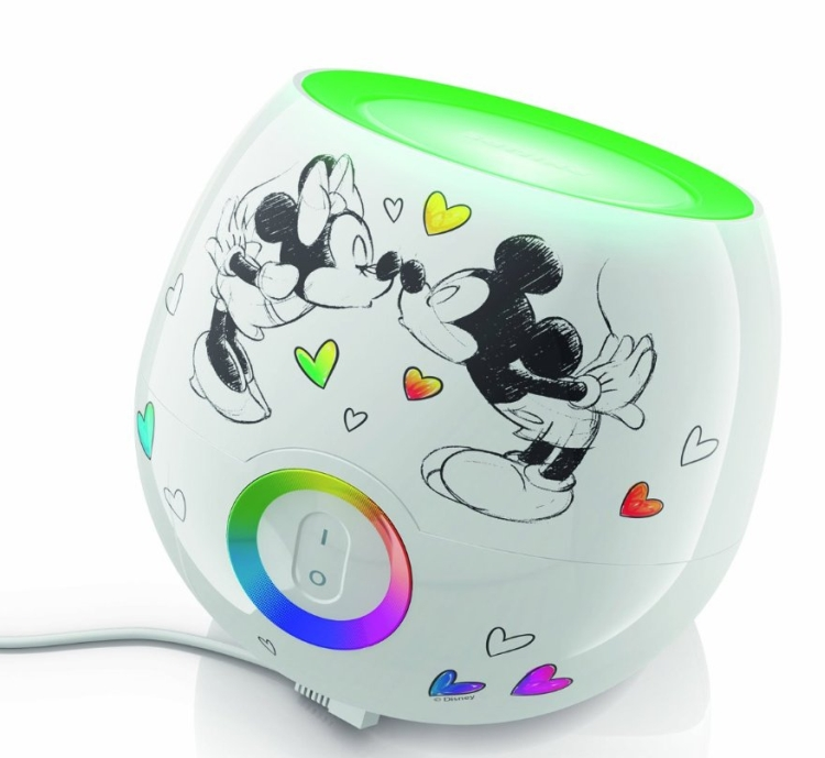 Philips 717035548 Living Colors Mini Mickey Mouse and Minnie Mou