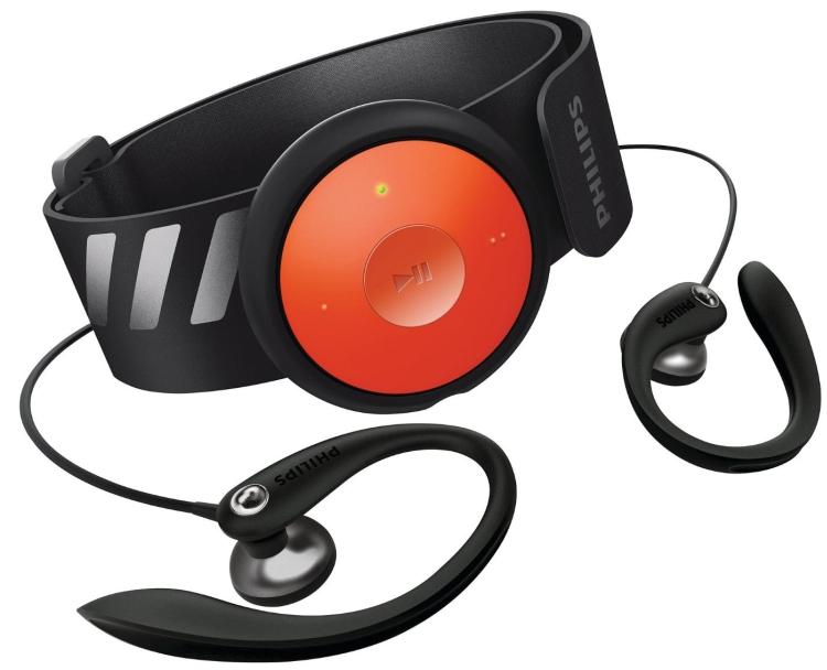 Philips GoGEAR FitDot 4GB MP3 Player